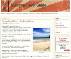 screenshot okinawa travel guide blog